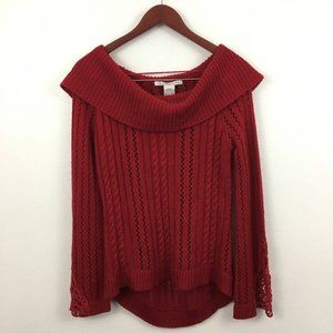 American Rag Red Pullover Sweater